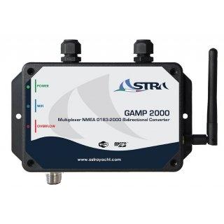 Astra GAMP-2000, 4 zu 1 Multiplexer NMEA 0183, NMEA2000 Übersetzer, WiFi Ausgang