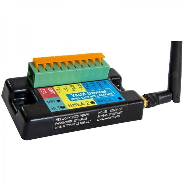 Yacht Devices NMEA 0183 Wi-Fi Gateway YDWN-02